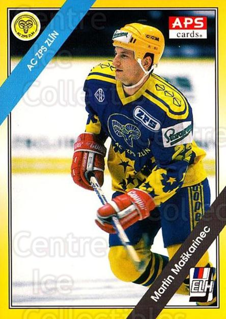 1994-95 Czech APS Extraliga #183 Martin Maskarinec<br/>7 In Stock - $2.00 each - <a href=https://centericecollectibles.foxycart.com/cart?name=1994-95%20Czech%20APS%20Extraliga%20%23183%20Martin%20Maskarin...&quantity_max=7&price=$2.00&code=1227 class=foxycart> Buy it now! </a>
