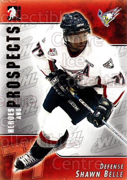 2004-05 ITG Heroes and Prospects #103 Shawn Belle<br/>18 In Stock - $1.00 each - <a href=https://centericecollectibles.foxycart.com/cart?name=2004-05%20ITG%20Heroes%20and%20Prospects%20%23103%20Shawn%20Belle...&quantity_max=18&price=$1.00&code=122933 class=foxycart> Buy it now! </a>
