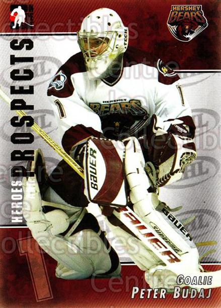 2004-05 ITG Heroes and Prospects #11 Peter Budaj<br/>18 In Stock - $1.00 each - <a href=https://centericecollectibles.foxycart.com/cart?name=2004-05%20ITG%20Heroes%20and%20Prospects%20%2311%20Peter%20Budaj...&quantity_max=18&price=$1.00&code=122938 class=foxycart> Buy it now! </a>
