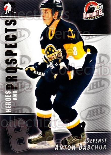 2004-05 ITG Heroes and Prospects #114 Anton Babchuk<br/>16 In Stock - $1.00 each - <a href=https://centericecollectibles.foxycart.com/cart?name=2004-05%20ITG%20Heroes%20and%20Prospects%20%23114%20Anton%20Babchuk...&quantity_max=16&price=$1.00&code=122943 class=foxycart> Buy it now! </a>