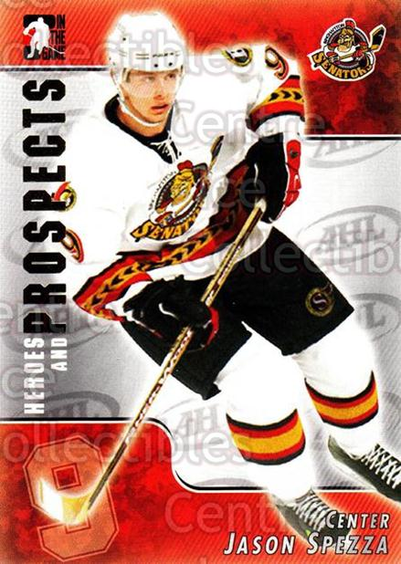 2004-05 ITG Heroes and Prospects #115 Jason Spezza<br/>17 In Stock - $1.00 each - <a href=https://centericecollectibles.foxycart.com/cart?name=2004-05%20ITG%20Heroes%20and%20Prospects%20%23115%20Jason%20Spezza...&quantity_max=17&price=$1.00&code=122944 class=foxycart> Buy it now! </a>