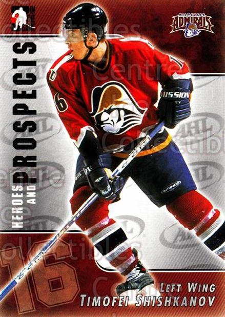 2004-05 ITG Heroes and Prospects #12 Timofei Shishkanov<br/>18 In Stock - $1.00 each - <a href=https://centericecollectibles.foxycart.com/cart?name=2004-05%20ITG%20Heroes%20and%20Prospects%20%2312%20Timofei%20Shishka...&quantity_max=18&price=$1.00&code=122945 class=foxycart> Buy it now! </a>