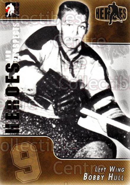 2004-05 ITG Heroes and Prospects #140 Bobby Hull<br/>13 In Stock - $2.00 each - <a href=https://centericecollectibles.foxycart.com/cart?name=2004-05%20ITG%20Heroes%20and%20Prospects%20%23140%20Bobby%20Hull...&quantity_max=13&price=$2.00&code=122965 class=foxycart> Buy it now! </a>