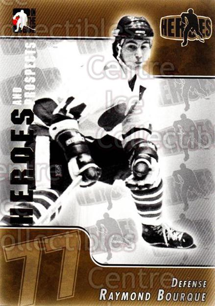2004-05 ITG Heroes and Prospects #150 Ray Bourque<br/>17 In Stock - $1.00 each - <a href=https://centericecollectibles.foxycart.com/cart?name=2004-05%20ITG%20Heroes%20and%20Prospects%20%23150%20Ray%20Bourque...&quantity_max=17&price=$1.00&code=122976 class=foxycart> Buy it now! </a>