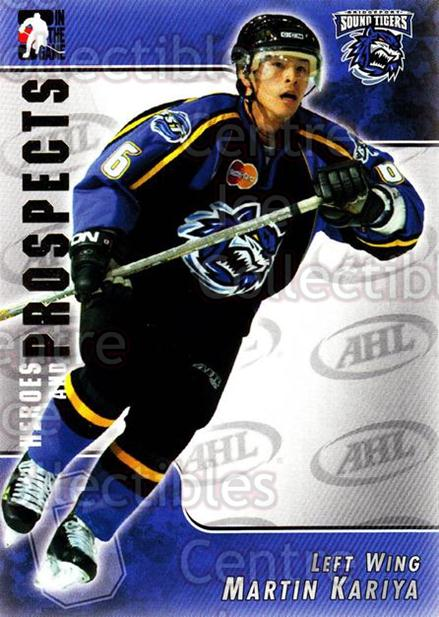 2004-05 ITG Heroes and Prospects #16 Martin Kariya<br/>17 In Stock - $1.00 each - <a href=https://centericecollectibles.foxycart.com/cart?name=2004-05%20ITG%20Heroes%20and%20Prospects%20%2316%20Martin%20Kariya...&quantity_max=17&price=$1.00&code=122986 class=foxycart> Buy it now! </a>