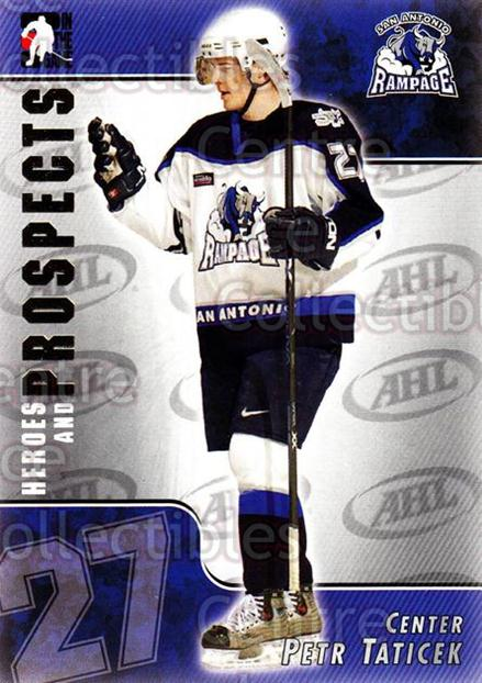 2004-05 ITG Heroes and Prospects #19 Petr Taticek<br/>14 In Stock - $1.00 each - <a href=https://centericecollectibles.foxycart.com/cart?name=2004-05%20ITG%20Heroes%20and%20Prospects%20%2319%20Petr%20Taticek...&quantity_max=14&price=$1.00&code=123006 class=foxycart> Buy it now! </a>