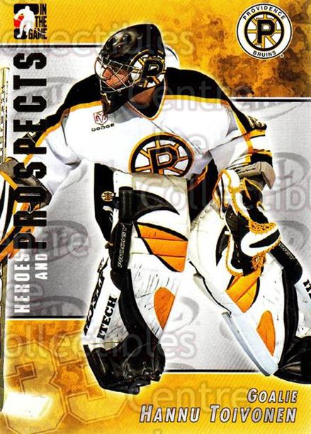 2004-05 ITG Heroes and Prospects #2 Hannu Toivonen<br/>15 In Stock - $1.00 each - <a href=https://centericecollectibles.foxycart.com/cart?name=2004-05%20ITG%20Heroes%20and%20Prospects%20%232%20Hannu%20Toivonen...&quantity_max=15&price=$1.00&code=123007 class=foxycart> Buy it now! </a>