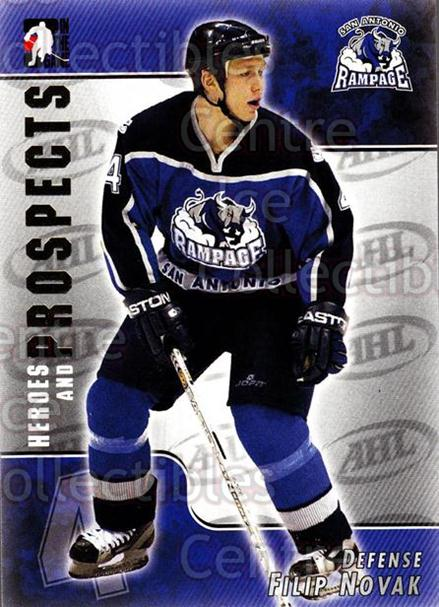 2004-05 ITG Heroes and Prospects #20 Filip Novak<br/>16 In Stock - $1.00 each - <a href=https://centericecollectibles.foxycart.com/cart?name=2004-05%20ITG%20Heroes%20and%20Prospects%20%2320%20Filip%20Novak...&quantity_max=16&price=$1.00&code=123008 class=foxycart> Buy it now! </a>