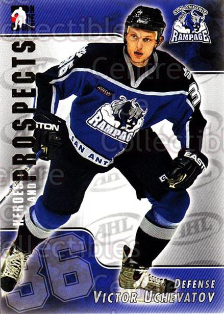 2004-05 ITG Heroes and Prospects #32 Victor Uchevatov<br/>17 In Stock - $1.00 each - <a href=https://centericecollectibles.foxycart.com/cart?name=2004-05%20ITG%20Heroes%20and%20Prospects%20%2332%20Victor%20Uchevato...&quantity_max=17&price=$1.00&code=123020 class=foxycart> Buy it now! </a>