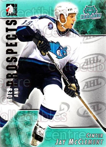 2004-05 ITG Heroes and Prospects #33 Jay McClement<br/>17 In Stock - $1.00 each - <a href=https://centericecollectibles.foxycart.com/cart?name=2004-05%20ITG%20Heroes%20and%20Prospects%20%2333%20Jay%20McClement...&quantity_max=17&price=$1.00&code=123021 class=foxycart> Buy it now! </a>