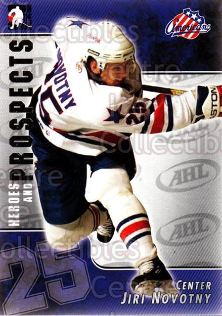 2004-05 ITG Heroes and Prospects #4 Jiri Novotny<br/>18 In Stock - $1.00 each - <a href=https://centericecollectibles.foxycart.com/cart?name=2004-05%20ITG%20Heroes%20and%20Prospects%20%234%20Jiri%20Novotny...&quantity_max=18&price=$1.00&code=123027 class=foxycart> Buy it now! </a>