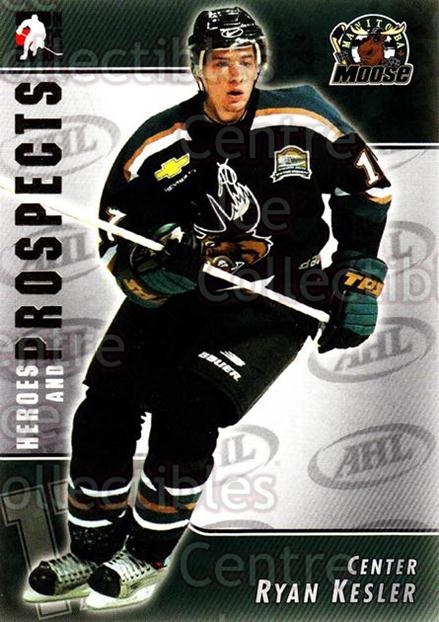 2004-05 ITG Heroes and Prospects #43 Ryan Kesler<br/>16 In Stock - $1.00 each - <a href=https://centericecollectibles.foxycart.com/cart?name=2004-05%20ITG%20Heroes%20and%20Prospects%20%2343%20Ryan%20Kesler...&quantity_max=16&price=$1.00&code=123031 class=foxycart> Buy it now! </a>