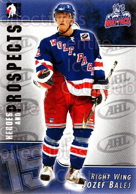 2004-05 ITG Heroes and Prospects #47 Jozef Balej<br/>17 In Stock - $1.00 each - <a href=https://centericecollectibles.foxycart.com/cart?name=2004-05%20ITG%20Heroes%20and%20Prospects%20%2347%20Jozef%20Balej...&quantity_max=17&price=$1.00&code=123035 class=foxycart> Buy it now! </a>