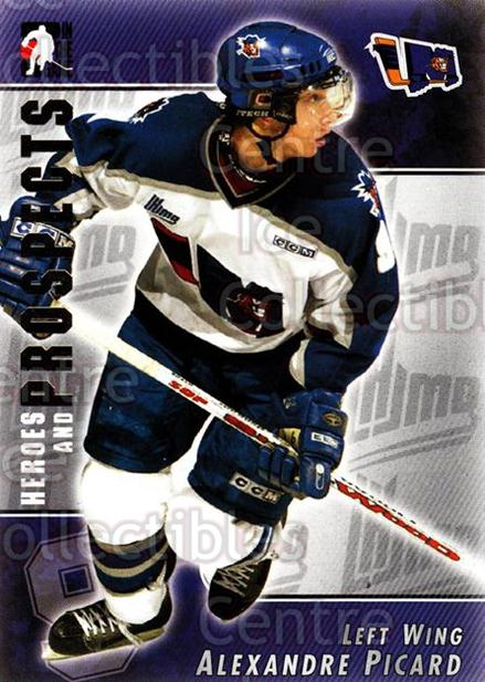 2004-05 ITG Heroes and Prospects #52 Alexandre Picard<br/>13 In Stock - $1.00 each - <a href=https://centericecollectibles.foxycart.com/cart?name=2004-05%20ITG%20Heroes%20and%20Prospects%20%2352%20Alexandre%20Picar...&quantity_max=13&price=$1.00&code=123040 class=foxycart> Buy it now! </a>