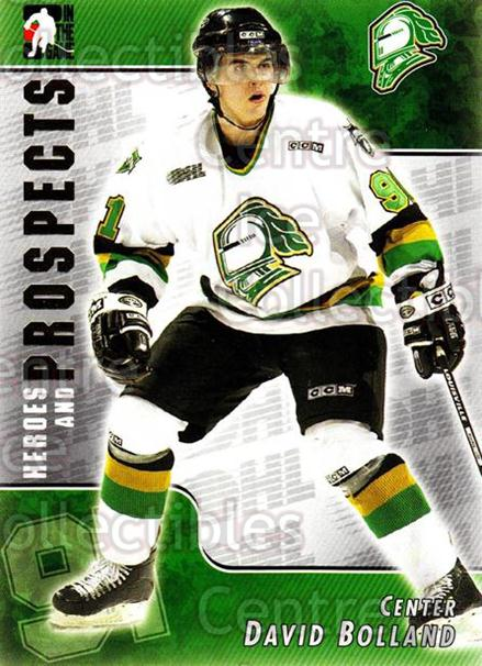 2004-05 ITG Heroes and Prospects #68 David Bolland<br/>14 In Stock - $1.00 each - <a href=https://centericecollectibles.foxycart.com/cart?name=2004-05%20ITG%20Heroes%20and%20Prospects%20%2368%20David%20Bolland...&quantity_max=14&price=$1.00&code=123055 class=foxycart> Buy it now! </a>