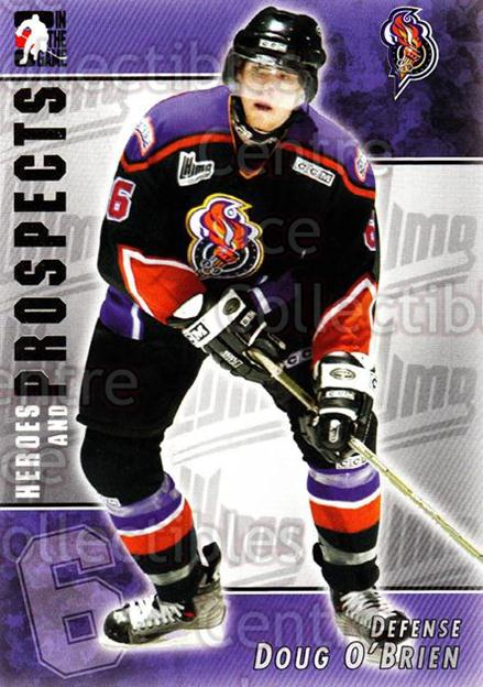 2004-05 ITG Heroes and Prospects #73 Doug O'Brien<br/>16 In Stock - $1.00 each - <a href=https://centericecollectibles.foxycart.com/cart?name=2004-05%20ITG%20Heroes%20and%20Prospects%20%2373%20Doug%20O'Brien...&quantity_max=16&price=$1.00&code=123060 class=foxycart> Buy it now! </a>