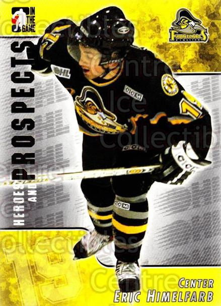 2004-05 ITG Heroes and Prospects #75 Eric Himelfarb<br/>14 In Stock - $1.00 each - <a href=https://centericecollectibles.foxycart.com/cart?name=2004-05%20ITG%20Heroes%20and%20Prospects%20%2375%20Eric%20Himelfarb...&quantity_max=14&price=$1.00&code=123062 class=foxycart> Buy it now! </a>
