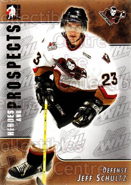 2004-05 ITG Heroes and Prospects #81 Jeff Schultz<br/>18 In Stock - $1.00 each - <a href=https://centericecollectibles.foxycart.com/cart?name=2004-05%20ITG%20Heroes%20and%20Prospects%20%2381%20Jeff%20Schultz...&quantity_max=18&price=$1.00&code=123067 class=foxycart> Buy it now! </a>