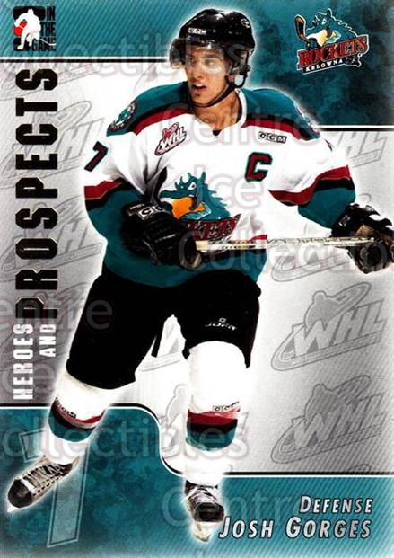 2004-05 ITG Heroes and Prospects #82 Josh Gorges<br/>15 In Stock - $1.00 each - <a href=https://centericecollectibles.foxycart.com/cart?name=2004-05%20ITG%20Heroes%20and%20Prospects%20%2382%20Josh%20Gorges...&quantity_max=15&price=$1.00&code=123068 class=foxycart> Buy it now! </a>