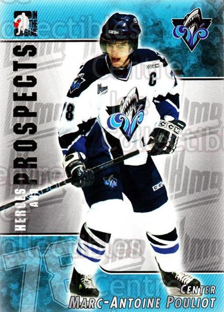 2004-05 ITG Heroes and Prospects #90 Marc-Antoine Pouliot<br/>17 In Stock - $1.00 each - <a href=https://centericecollectibles.foxycart.com/cart?name=2004-05%20ITG%20Heroes%20and%20Prospects%20%2390%20Marc-Antoine%20Po...&quantity_max=17&price=$1.00&code=123076 class=foxycart> Buy it now! </a>