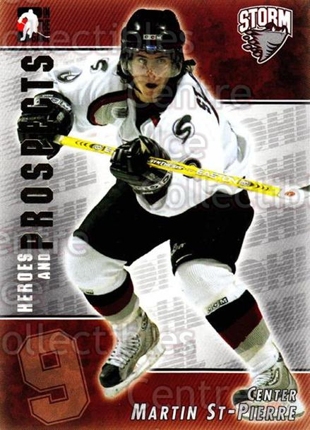 2004-05 ITG Heroes and Prospects #92 Martin St.Pierre<br/>17 In Stock - $1.00 each - <a href=https://centericecollectibles.foxycart.com/cart?name=2004-05%20ITG%20Heroes%20and%20Prospects%20%2392%20Martin%20St.Pierr...&quantity_max=17&price=$1.00&code=123078 class=foxycart> Buy it now! </a>