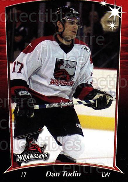 2004-05 Las Vegas Wranglers #10 Dan Tudin<br/>3 In Stock - $3.00 each - <a href=https://centericecollectibles.foxycart.com/cart?name=2004-05%20Las%20Vegas%20Wranglers%20%2310%20Dan%20Tudin...&quantity_max=3&price=$3.00&code=123143 class=foxycart> Buy it now! </a>