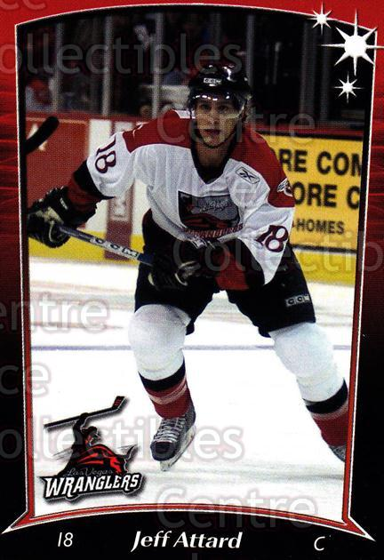 2004-05 Las Vegas Wranglers #11 Jeff Attard<br/>3 In Stock - $3.00 each - <a href=https://centericecollectibles.foxycart.com/cart?name=2004-05%20Las%20Vegas%20Wranglers%20%2311%20Jeff%20Attard...&quantity_max=3&price=$3.00&code=123144 class=foxycart> Buy it now! </a>