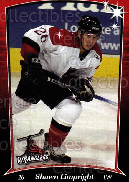 2004-05 Las Vegas Wranglers #14 Shawn Limpright<br/>1 In Stock - $3.00 each - <a href=https://centericecollectibles.foxycart.com/cart?name=2004-05%20Las%20Vegas%20Wranglers%20%2314%20Shawn%20Limpright...&quantity_max=1&price=$3.00&code=123147 class=foxycart> Buy it now! </a>