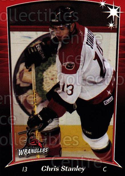 2004-05 Las Vegas Wranglers #7 Chris Stanley<br/>3 In Stock - $3.00 each - <a href=https://centericecollectibles.foxycart.com/cart?name=2004-05%20Las%20Vegas%20Wranglers%20%237%20Chris%20Stanley...&quantity_max=3&price=$3.00&code=123160 class=foxycart> Buy it now! </a>