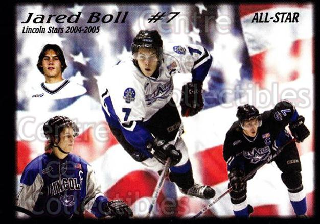 2004-05 Lincoln Stars #46 Jared Boll<br/>7 In Stock - $3.00 each - <a href=https://centericecollectibles.foxycart.com/cart?name=2004-05%20Lincoln%20Stars%20%2346%20Jared%20Boll...&price=$3.00&code=123176 class=foxycart> Buy it now! </a>