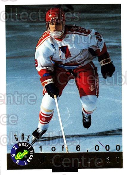 1992 Classic Hockey Draft Gold #36 Jan Vopat<br/>9 In Stock - $2.00 each - <a href=https://centericecollectibles.foxycart.com/cart?name=1992%20Classic%20Hockey%20Draft%20Gold%20%2336%20Jan%20Vopat...&quantity_max=9&price=$2.00&code=12317 class=foxycart> Buy it now! </a>