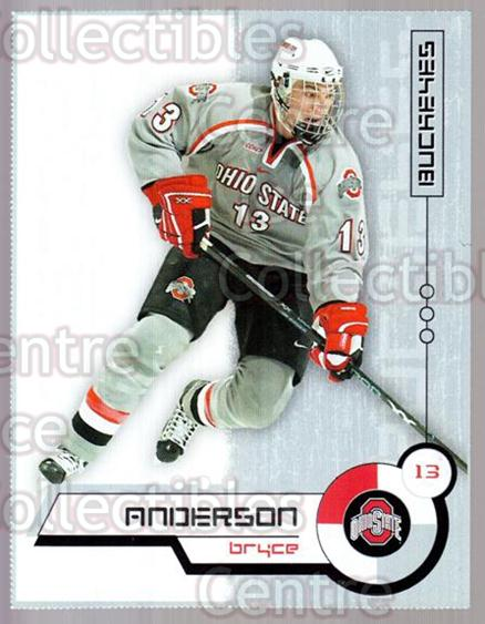 2004-05 Ohio State Buckeyes #1 Bryce Anderson<br/>9 In Stock - $3.00 each - <a href=https://centericecollectibles.foxycart.com/cart?name=2004-05%20Ohio%20State%20Buckeyes%20%231%20Bryce%20Anderson...&quantity_max=9&price=$3.00&code=123276 class=foxycart> Buy it now! </a>