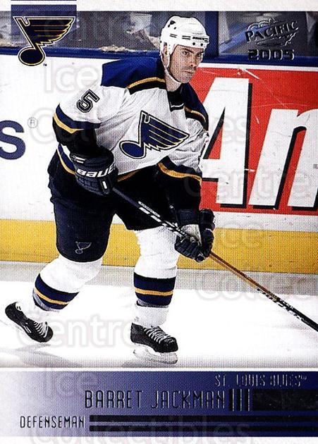 2004-05 Pacific #219 Barret Jackman<br/>3 In Stock - $1.00 each - <a href=https://centericecollectibles.foxycart.com/cart?name=2004-05%20Pacific%20%23219%20Barret%20Jackman...&quantity_max=3&price=$1.00&code=123302 class=foxycart> Buy it now! </a>