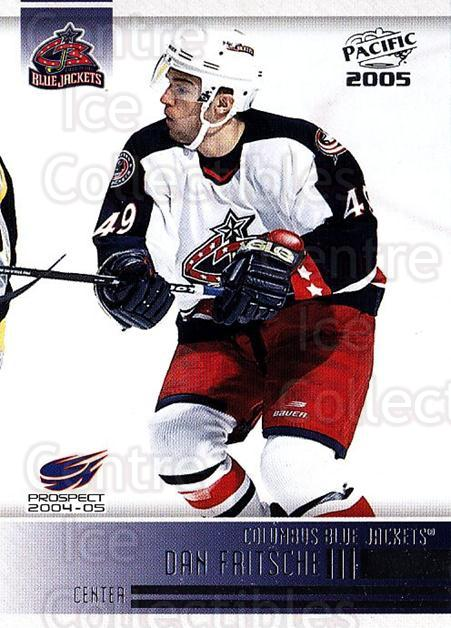 2004-05 Pacific #279 Dan Fritsche<br/>1 In Stock - $1.00 each - <a href=https://centericecollectibles.foxycart.com/cart?name=2004-05%20Pacific%20%23279%20Dan%20Fritsche...&quantity_max=1&price=$1.00&code=123309 class=foxycart> Buy it now! </a>