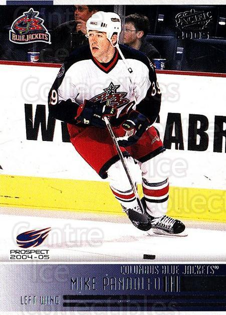 2004-05 Pacific #281 Mike Pandolfo<br/>1 In Stock - $1.00 each - <a href=https://centericecollectibles.foxycart.com/cart?name=2004-05%20Pacific%20%23281%20Mike%20Pandolfo...&quantity_max=1&price=$1.00&code=123311 class=foxycart> Buy it now! </a>