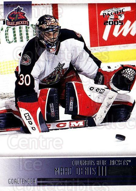 2004-05 Pacific #74 Marc Denis<br/>3 In Stock - $1.00 each - <a href=https://centericecollectibles.foxycart.com/cart?name=2004-05%20Pacific%20%2374%20Marc%20Denis...&quantity_max=3&price=$1.00&code=123313 class=foxycart> Buy it now! </a>