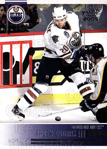 2004-05 Pacific #101 Radek Dvorak<br/>4 In Stock - $1.00 each - <a href=https://centericecollectibles.foxycart.com/cart?name=2004-05%20Pacific%20%23101%20Radek%20Dvorak...&quantity_max=4&price=$1.00&code=123532 class=foxycart> Buy it now! </a>