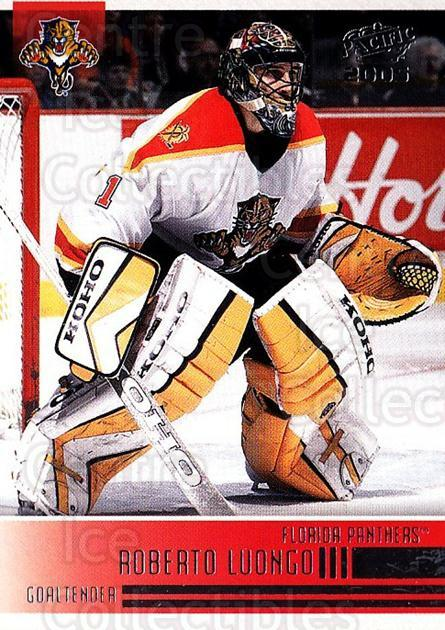 2004-05 Pacific #115 Roberto Luongo<br/>2 In Stock - $1.00 each - <a href=https://centericecollectibles.foxycart.com/cart?name=2004-05%20Pacific%20%23115%20Roberto%20Luongo...&quantity_max=2&price=$1.00&code=123547 class=foxycart> Buy it now! </a>