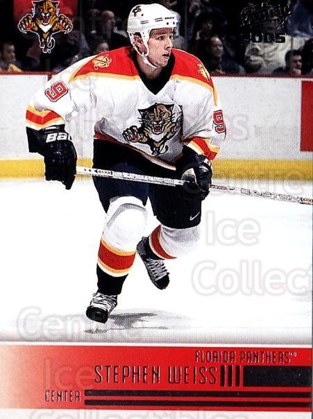 2004-05 Pacific #117 Stephen Weiss<br/>5 In Stock - $1.00 each - <a href=https://centericecollectibles.foxycart.com/cart?name=2004-05%20Pacific%20%23117%20Stephen%20Weiss...&quantity_max=5&price=$1.00&code=123549 class=foxycart> Buy it now! </a>
