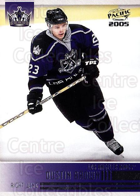 2004-05 Pacific #119 Dustin Brown<br/>4 In Stock - $1.00 each - <a href=https://centericecollectibles.foxycart.com/cart?name=2004-05%20Pacific%20%23119%20Dustin%20Brown...&quantity_max=4&price=$1.00&code=123551 class=foxycart> Buy it now! </a>