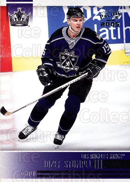 2004-05 Pacific #126 Jozef Stumpel<br/>1 In Stock - $1.00 each - <a href=https://centericecollectibles.foxycart.com/cart?name=2004-05%20Pacific%20%23126%20Jozef%20Stumpel...&quantity_max=1&price=$1.00&code=123558 class=foxycart> Buy it now! </a>