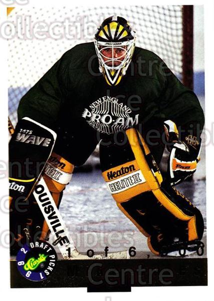 1992 Classic Hockey Draft Gold #73 Mike Bales<br/>1 In Stock - $2.00 each - <a href=https://centericecollectibles.foxycart.com/cart?name=1992%20Classic%20Hockey%20Draft%20Gold%20%2373%20Mike%20Bales...&quantity_max=1&price=$2.00&code=12355 class=foxycart> Buy it now! </a>