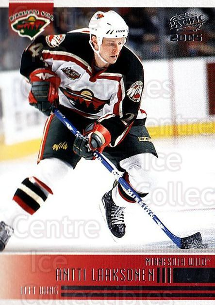 2004-05 Pacific #134 Antti Laaksonen<br/>4 In Stock - $1.00 each - <a href=https://centericecollectibles.foxycart.com/cart?name=2004-05%20Pacific%20%23134%20Antti%20Laaksonen...&quantity_max=4&price=$1.00&code=123567 class=foxycart> Buy it now! </a>