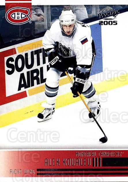 2004-05 Pacific #138 Alexei Kovalev<br/>4 In Stock - $1.00 each - <a href=https://centericecollectibles.foxycart.com/cart?name=2004-05%20Pacific%20%23138%20Alexei%20Kovalev...&quantity_max=4&price=$1.00&code=123571 class=foxycart> Buy it now! </a>
