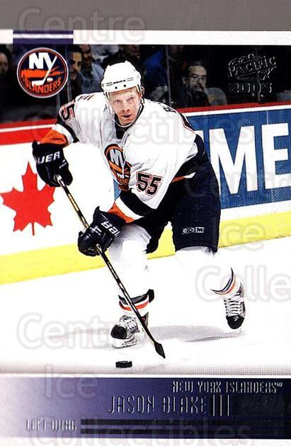 2004-05 Pacific #164 Jason Blake<br/>2 In Stock - $1.00 each - <a href=https://centericecollectibles.foxycart.com/cart?name=2004-05%20Pacific%20%23164%20Jason%20Blake...&quantity_max=2&price=$1.00&code=123590 class=foxycart> Buy it now! </a>