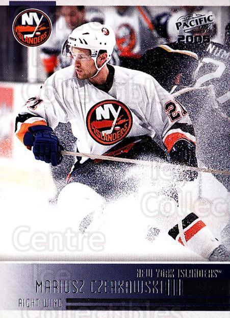 2004-05 Pacific #165 Mariusz Czerkawski<br/>4 In Stock - $1.00 each - <a href=https://centericecollectibles.foxycart.com/cart?name=2004-05%20Pacific%20%23165%20Mariusz%20Czerkaw...&quantity_max=4&price=$1.00&code=123591 class=foxycart> Buy it now! </a>