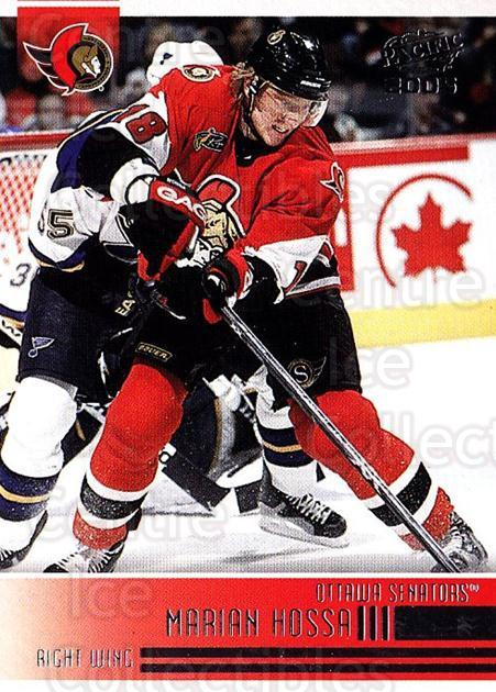 2004-05 Pacific #185 Marian Hossa<br/>2 In Stock - $1.00 each - <a href=https://centericecollectibles.foxycart.com/cart?name=2004-05%20Pacific%20%23185%20Marian%20Hossa...&quantity_max=2&price=$1.00&code=123613 class=foxycart> Buy it now! </a>