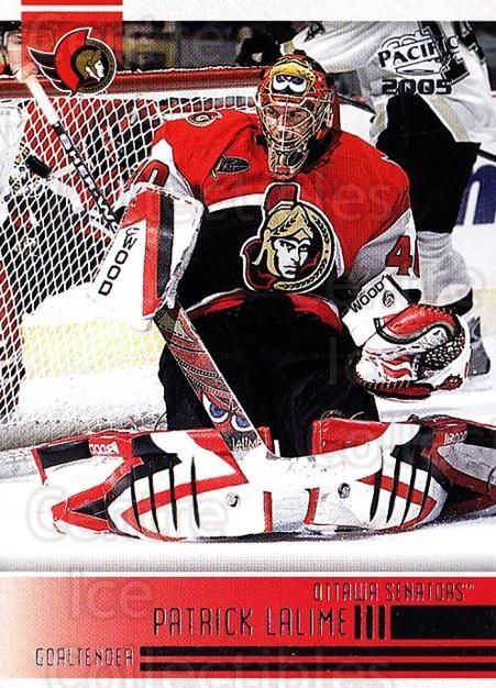 2004-05 Pacific #186 Patrick Lalime<br/>5 In Stock - $1.00 each - <a href=https://centericecollectibles.foxycart.com/cart?name=2004-05%20Pacific%20%23186%20Patrick%20Lalime...&quantity_max=5&price=$1.00&code=123614 class=foxycart> Buy it now! </a>