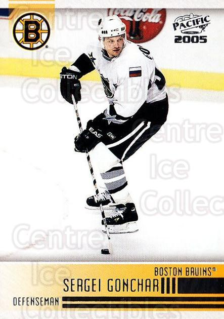 2004-05 Pacific #20 Sergei Gonchar<br/>5 In Stock - $1.00 each - <a href=https://centericecollectibles.foxycart.com/cart?name=2004-05%20Pacific%20%2320%20Sergei%20Gonchar...&quantity_max=5&price=$1.00&code=123621 class=foxycart> Buy it now! </a>