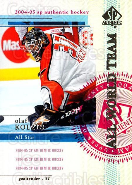 2004-05 SP Authentic #150 Olaf Kolzig<br/>9 In Stock - $2.00 each - <a href=https://centericecollectibles.foxycart.com/cart?name=2004-05%20SP%20Authentic%20%23150%20Olaf%20Kolzig...&quantity_max=9&price=$2.00&code=123912 class=foxycart> Buy it now! </a>